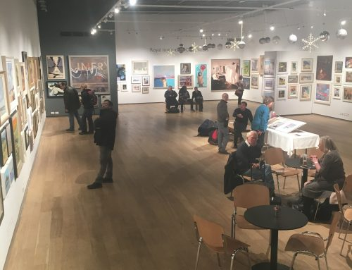 ROI at the Mall Galleries